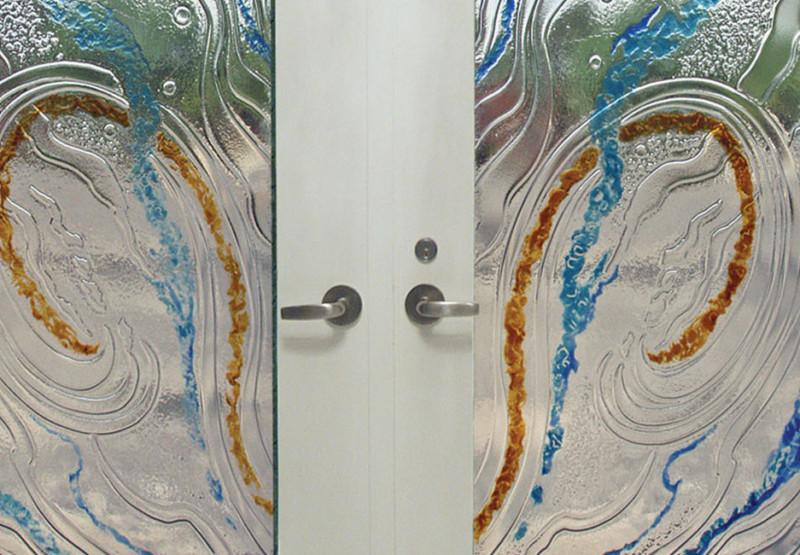 , Slumped Glass Art