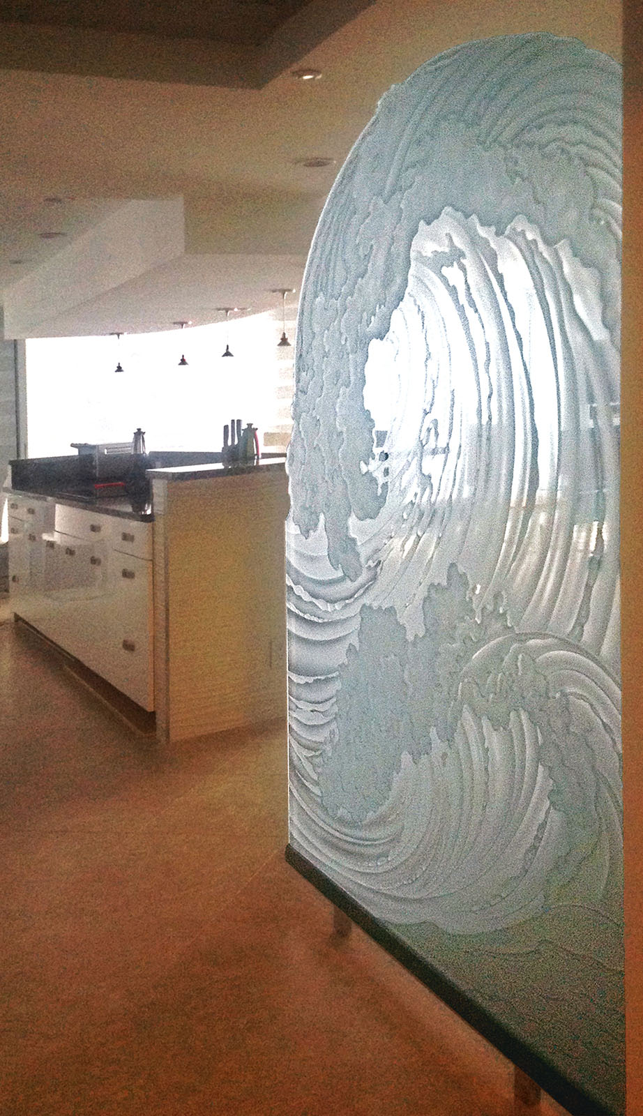 Custom Etched Glass Windows Panels Amp Doors For Business