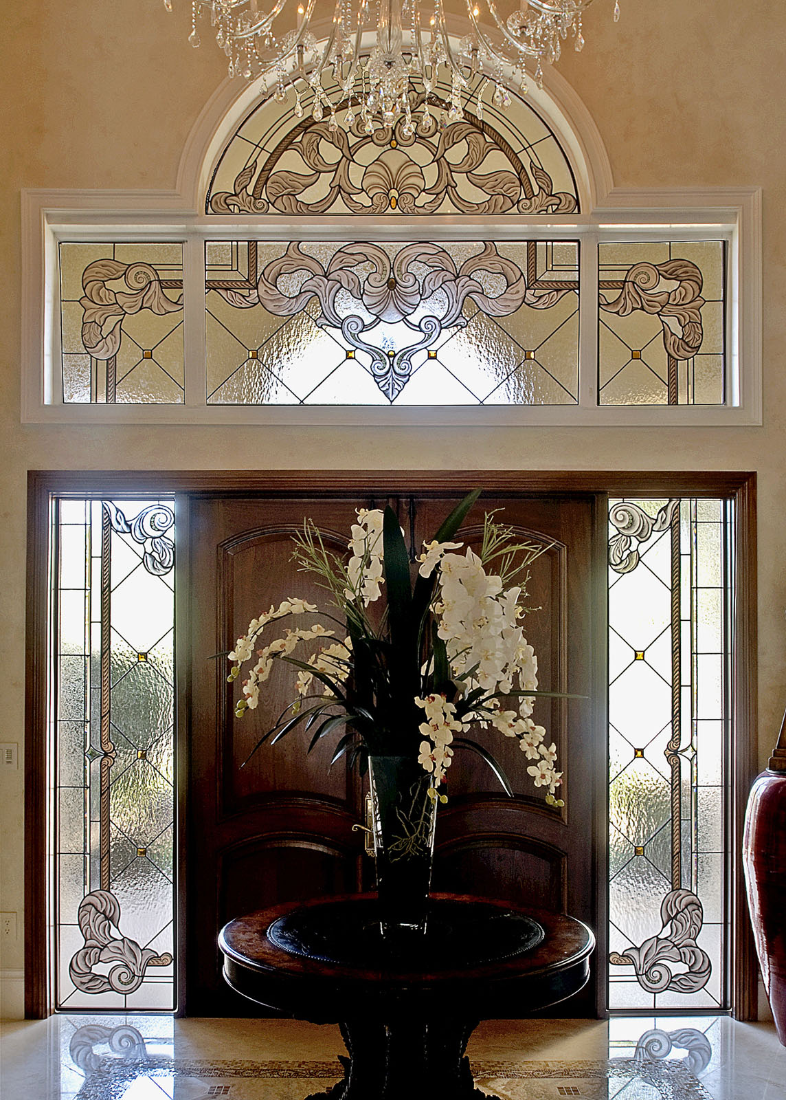 Custom Stained Glass Windows And Doors Homes And Office