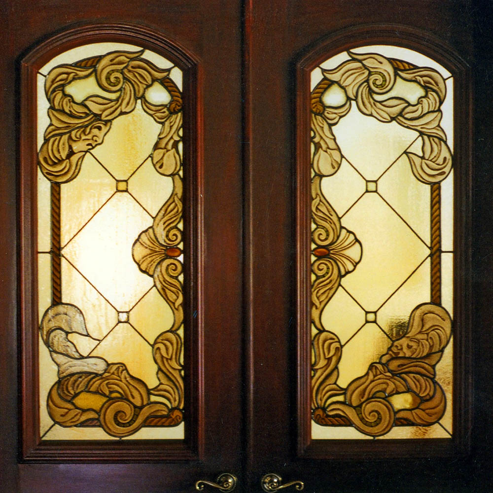 Design Art Painting Glass Windows And Doors