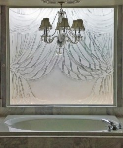 Etched Glass Windows, Etched Glass Windows – Sandblasted Glass Panels for Doors & Shower
