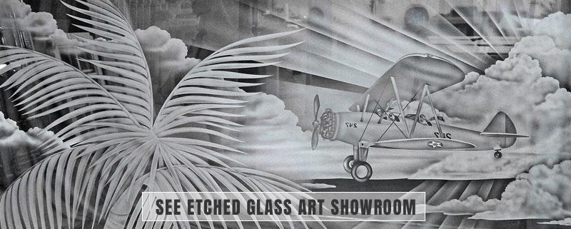 Glass Etching Service, Glass Etching Service